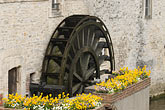 french stock photography | France, Normandy, Bayeux, Waterwheel, image id 6-450-1019