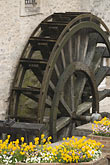 french stock photography | France, Normandy, Bayeux, Waterwheel, image id 6-450-1021