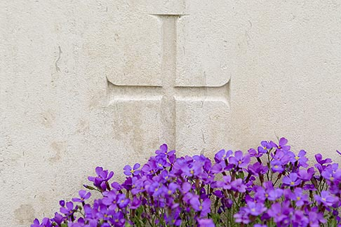 image 6-450-1080 France, Normandy, Bayeux, Bayeux British War Cemetery and Memorial