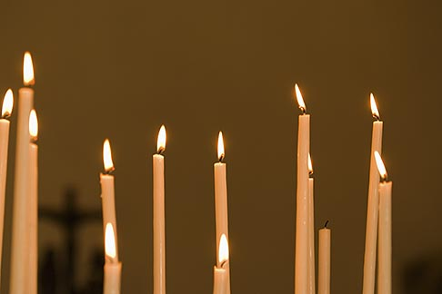 image 6-450-1149 Still life, Candles