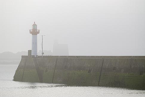 image 6-450-1172 France, Normandy, St Vaast La Hougue, Harbor entrance