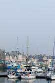harbour stock photography | France, Normandy, St. Vaast La Hougue, Harbor and boats, image id 6-450-1176
