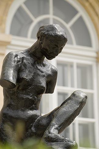 image 6-450-1273 France, Paris, Rodin Museum, La Muse de Whistler