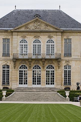 image 6-450-1282 France, Paris, Rodin Museum, H™tel Biron