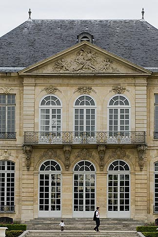 image 6-450-1283 France, Paris, Rodin Museum, H�tel Biron