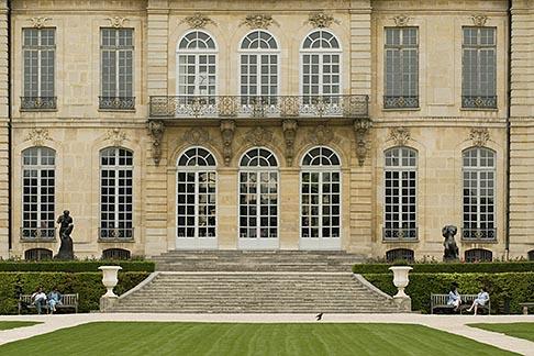 image 6-450-1290 France, Paris, Rodin Museum, H™tel Biron