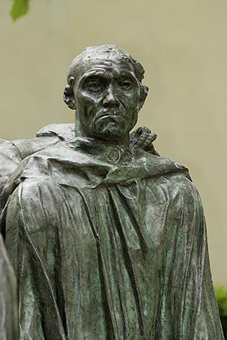 image 6-450-1315 France, Paris, Rodin Museum, The Burghers of Calais, detail