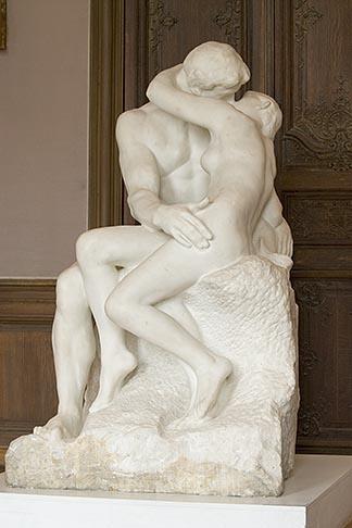 image 6-450-1321 France, Paris, Rodin Museum, The Kiss