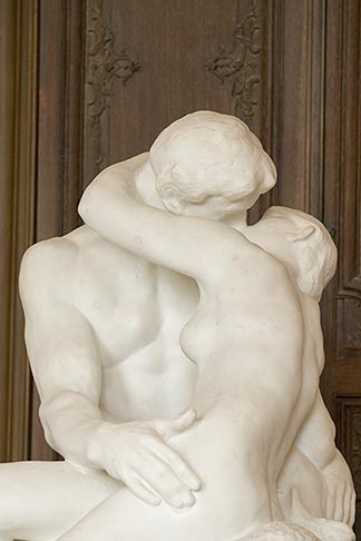 image 6-450-1322 France, Paris, Rodin Museum, The Kiss