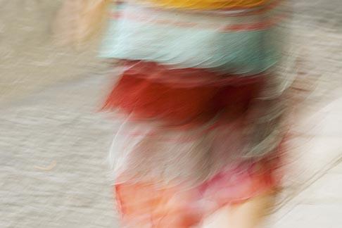 image 6-450-1326 France, Paris, Dress in motion