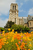 garden stock photography | France, Paris, CathŽdrale Notre Dame de Paris, image id 6-450-185