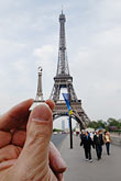 duplication stock photography | France, Paris, Eiffel Tower and garden, image id 6-450-406