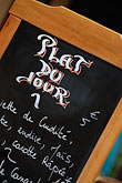 restaurant sign stock photography | France, Paris, Menu, image id 6-450-530