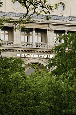 image 6-450-544 France, Paris, Theatre de la Ville