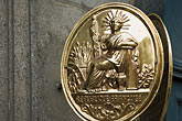 parisian stock photography | France, Paris, Medallion of LibertŽ, image id 6-450-5751