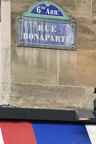 image 6-450-5778 France, Paris, Street sign