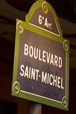 saint michel stock photography | France, Paris, Boulevard Saint Michel, image id 6-450-5779