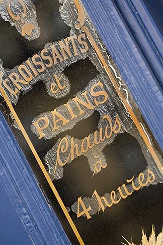 image 6-450-5846 France, Paris, Patisserie sign