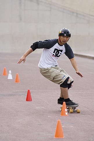 image 6-450-5892 Recreation, Skateboarder