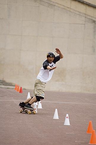 image 6-450-5914 Recreation, Skateboarder