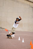 one man only stock photography | Recreation, Skateboarder, image id 6-450-5914