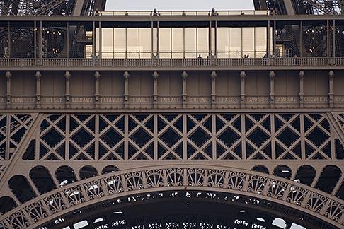 image 6-450-5961 France, Paris, Eiffel Tower detail