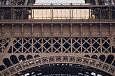 landmark stock photography | France, Paris, Eiffel Tower detail, image id 6-450-5961