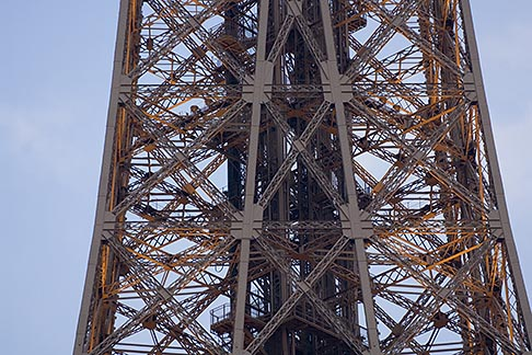 image 6-450-5973 France, Paris, Eiffel Tower detail