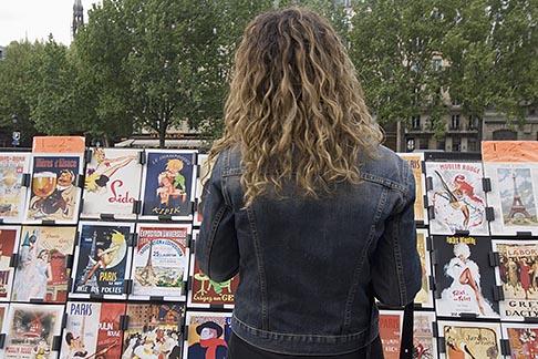 image 6-450-6134 France, Paris, Souvenir postscards, Left Bank