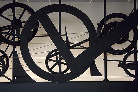 image 6-450-6177 France, Paris, Centre Pompidou, Requiem pur une feuille morte, Jean Tinguelly, 1967