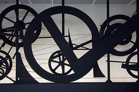 image 6-450-6178 France, Paris, Centre Pompidou, Requiem pur une feuille morte, Jean Tinguelly, 1967