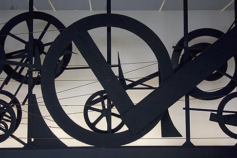 image 6-450-6179 France, Paris, Centre Pompidou, Requiem pur une feuille morte, Jean Tinguelly, 1967