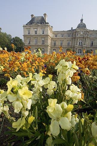 image 6-450-6219 France, Paris, Jardins des Luxembourg, Luxembourg Gardens