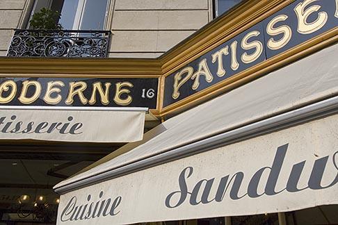 image 6-450-6267 France, Paris, Patisserie