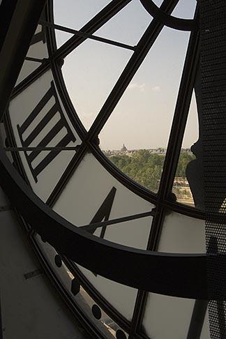 image 6-450-6325 France, Paris, Musee dOrsay, Clock