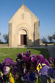 vertical stock photography | France, Normandy, St. Vaast La Hougue, Chapel, image id 6-450-6529