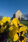 chapel stock photography | France, Normandy, St. Vaast La Hougue, Chapel, candles, image id 6-450-6542