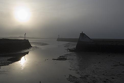 image 6-450-6554 France, Normandy, St Vaast La Hougue, Harbor entrance