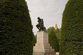 garden stock photography | France, Paris, Rodin Museum, The Thinker, image id 6-450-6646