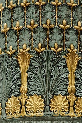 image 6-450-705 France, Paris, Jardin des Tuileries, Ornamental Lamp post