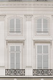 facade stock photography | France, Paris, Painted covering for building repair, image id 6-450-717