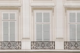 window stock photography | France, Paris, Painted covering for building repair, image id 6-450-718