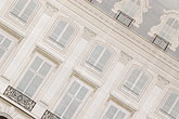 facade stock photography | France, Paris, Painted covering for building repair, image id 6-450-721