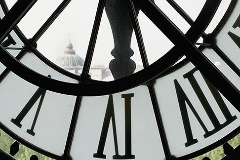 image 6-450-769 France, Paris, Musee dOrsay, Clock