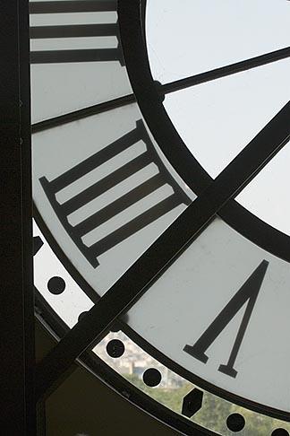 image 6-450-789 France, Paris, Musee dOrsay, Clock