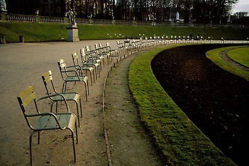 image S1-35-11 France, Paris, Luxembourg Gardens