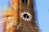 out of focus stock photography | Germany, Munich, Frauenkirche tower, image id 3-920-88