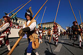 celebrate stock photography | Germany, Munich, Oktoberfest, Parade of Folklore Groups, image id 3-950-37