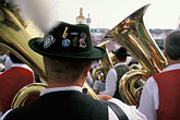small group of men stock photography | Germany, Munich, Oktoberfest, Band concert, image id 3-951-137