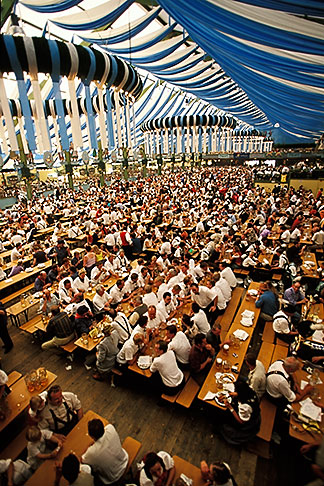 image 3-952-5 Germany, Munich, Oktoberfest, Beer hall